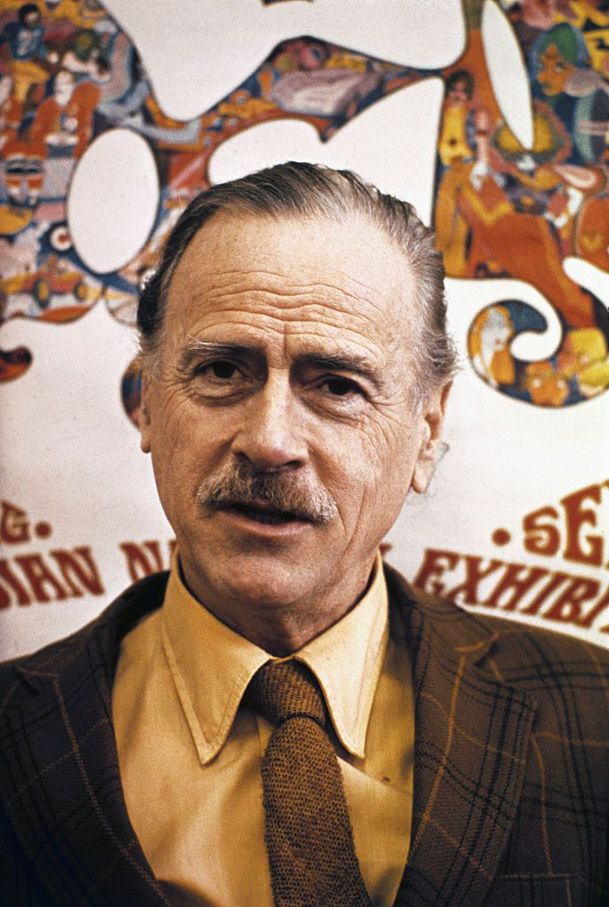 Portrait of Marshall McLuhan
