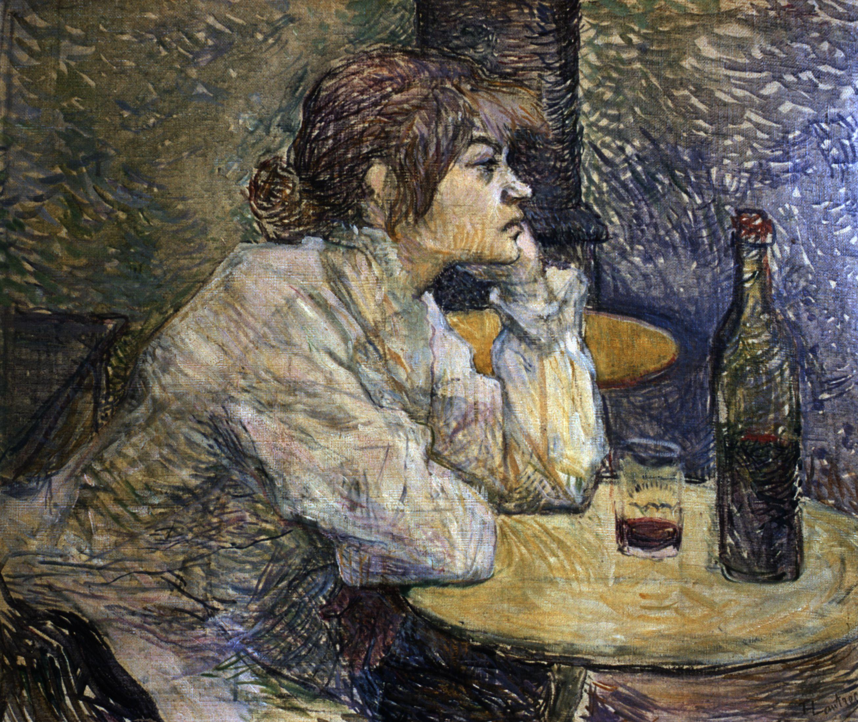 The Hangover by Henri de Toulouse-Lautrec