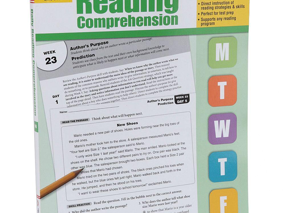 Second Grade Reading Comprehension Books