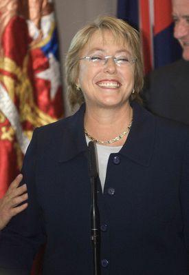Michelle Bachelet November 2006