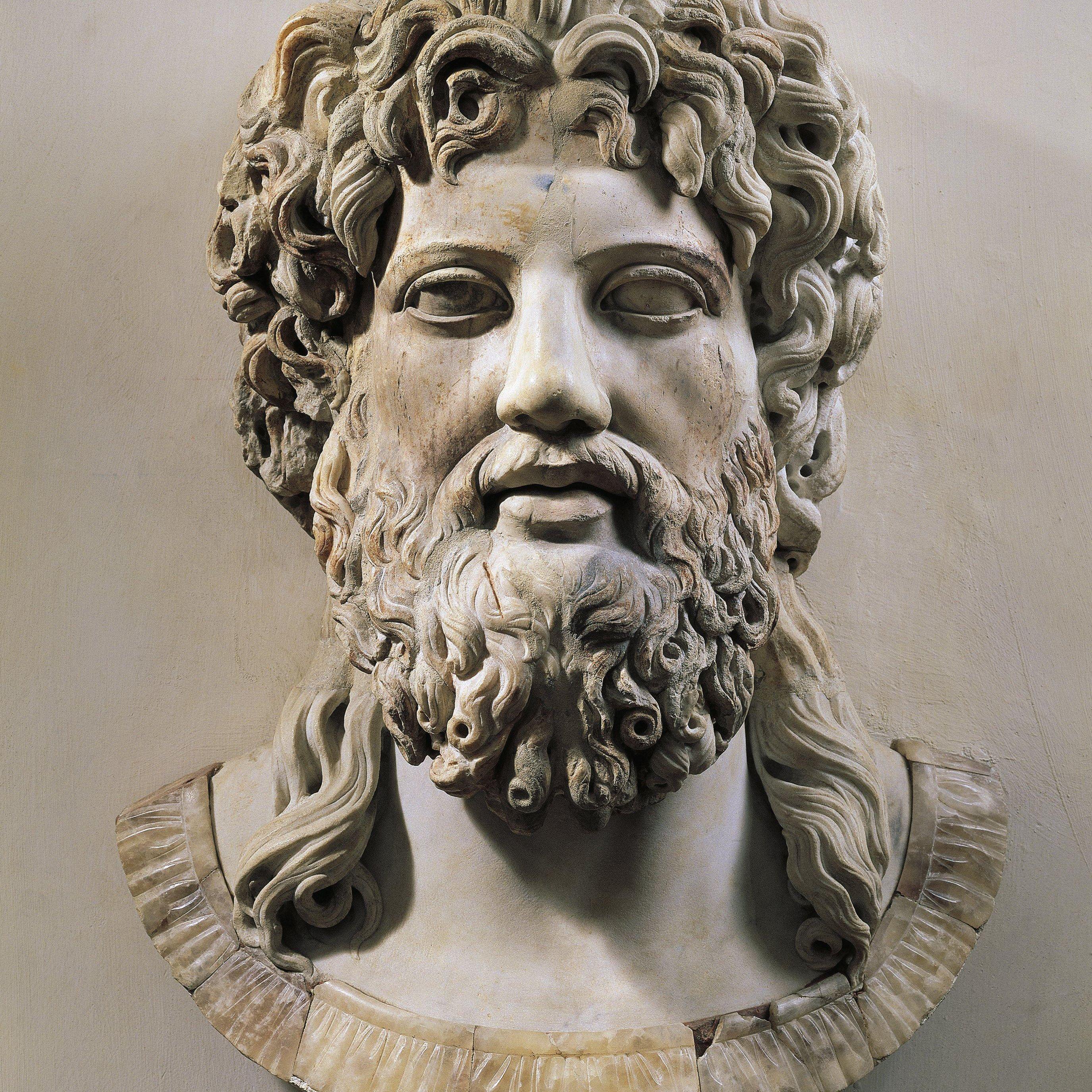 Profile Of The Greek God Zeus
