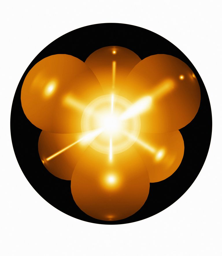 This is a diagram of the valence electron of a neon atom, which has a complete octet.