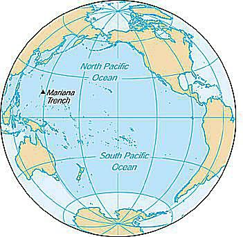 Pacific ocean overview formation topography and more the pacific ocean cia world factbook gumiabroncs Choice Image