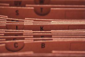 A file folder