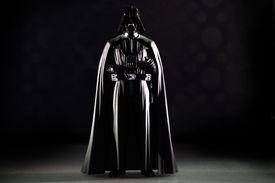 Darth Vader, the iconic Star Wars villain