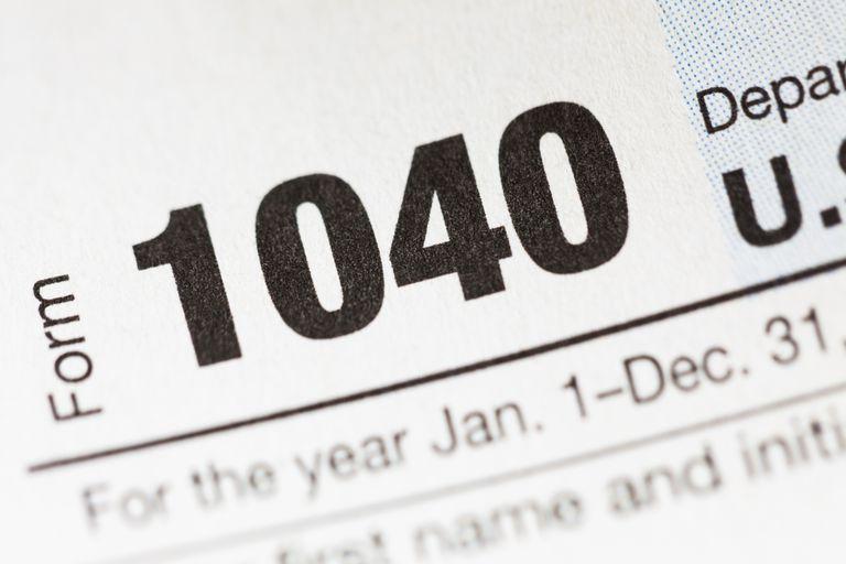 Planilla 1040 del IRS