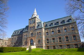 Edwin Stevens Hall on the campus of Stevens Institute of Technology