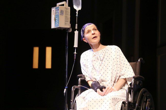 """Goehring as Vivian Bearing in North Carolina Theater Production of Margaret Edson's """"Wit"""""""