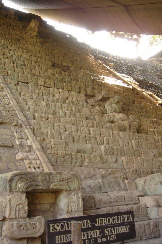 Hieroglyphic Staircase, Copan, Honduras