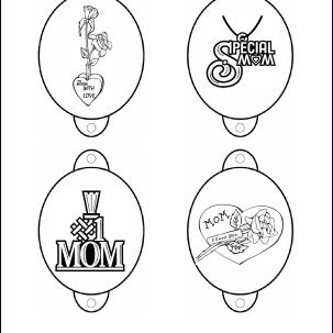 Mother's Day printable pencil toppers
