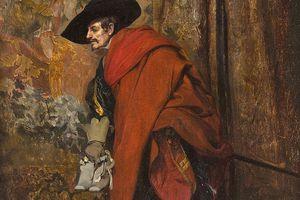 Polonius behind the curtain