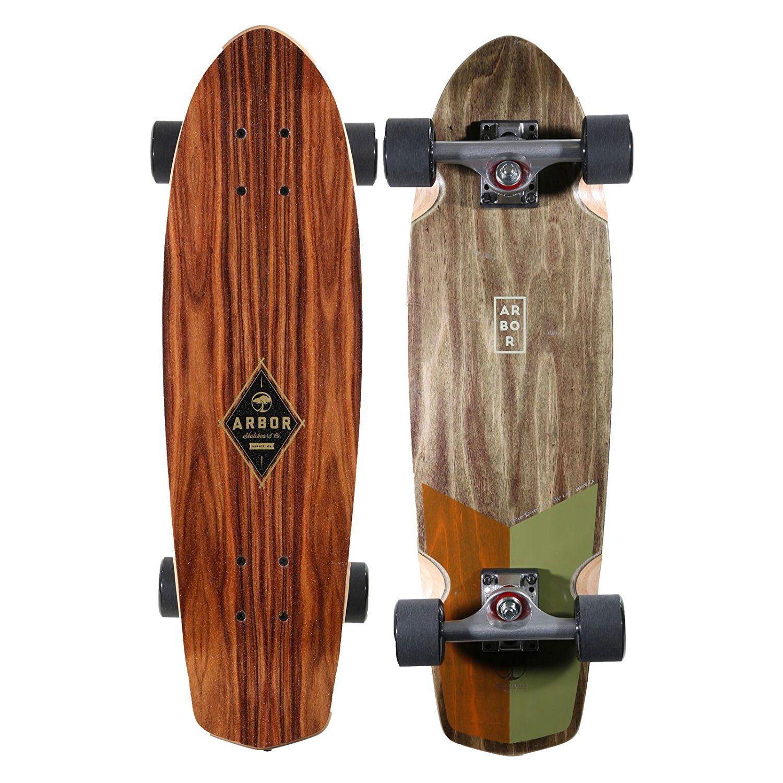 Beautiful Wooden Penny Board Deck