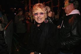Judy Chicago at 'A Butterfly For Brooklyn' Fireworks Show