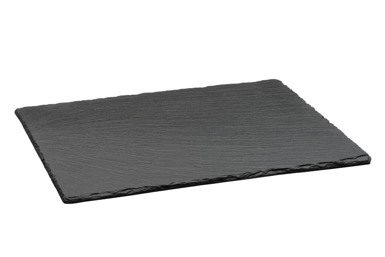 Slate is a fine-grained, hard metamorphic rock.