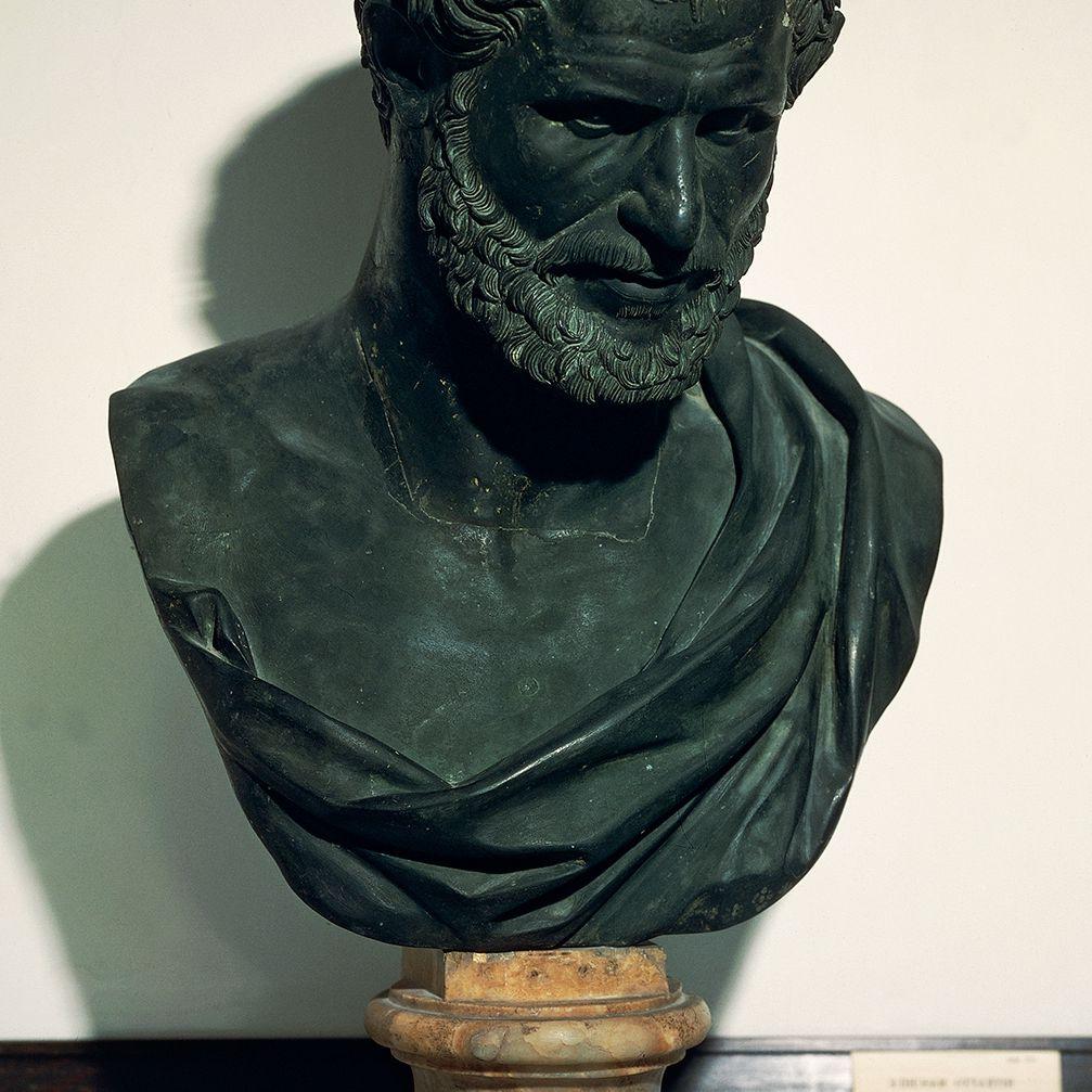 Bust of Democritus