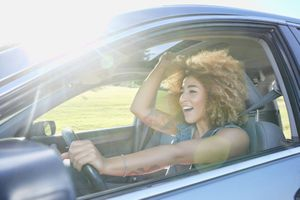 Driving can be a relaxing experience with the right sounds.