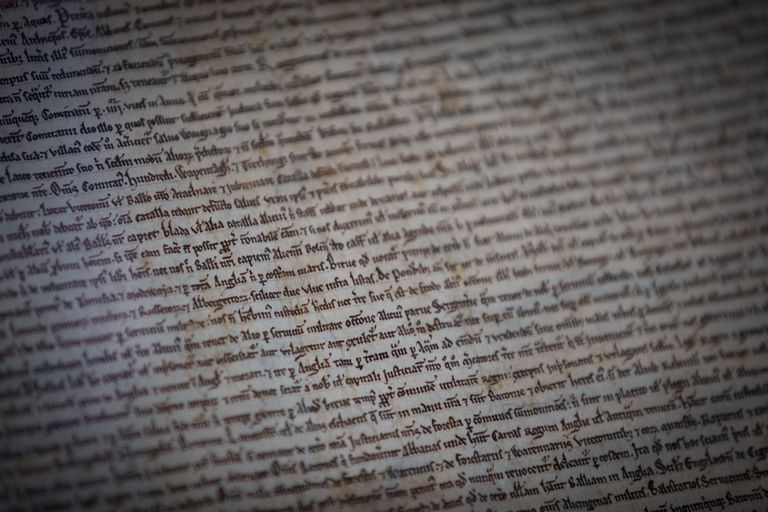 Text of Magna Carta