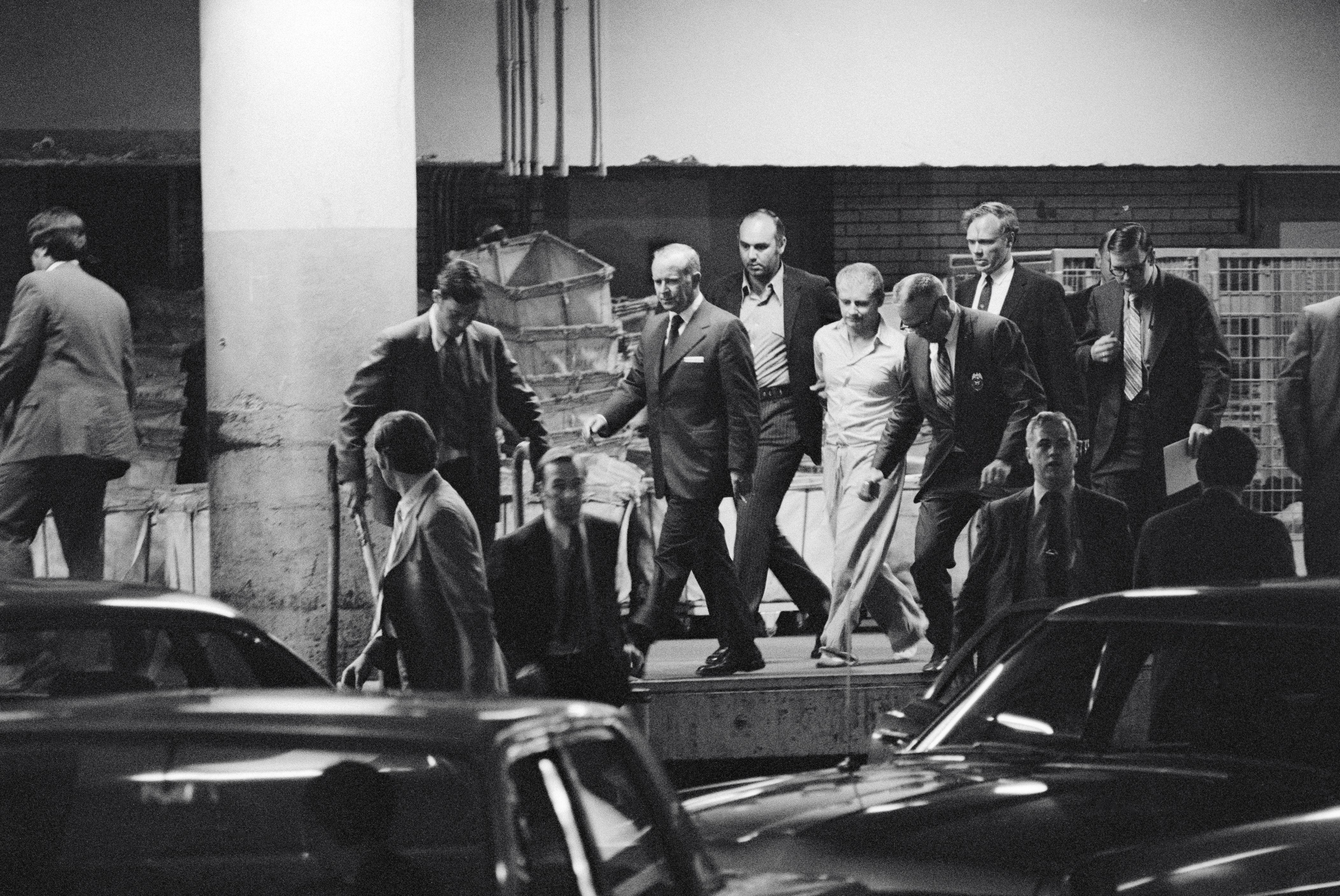 Arthur Bremer leaving court