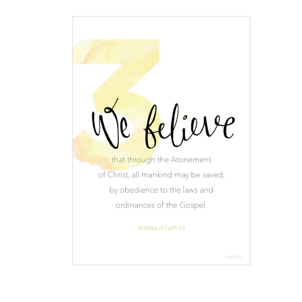 Resources to Help Learn the 13 LDS Articles of Faith