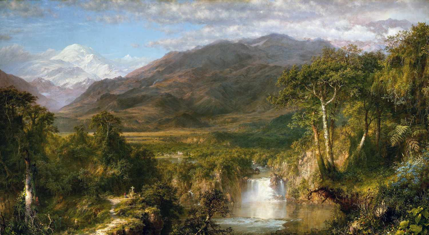 frederic edwin church heart of the andes