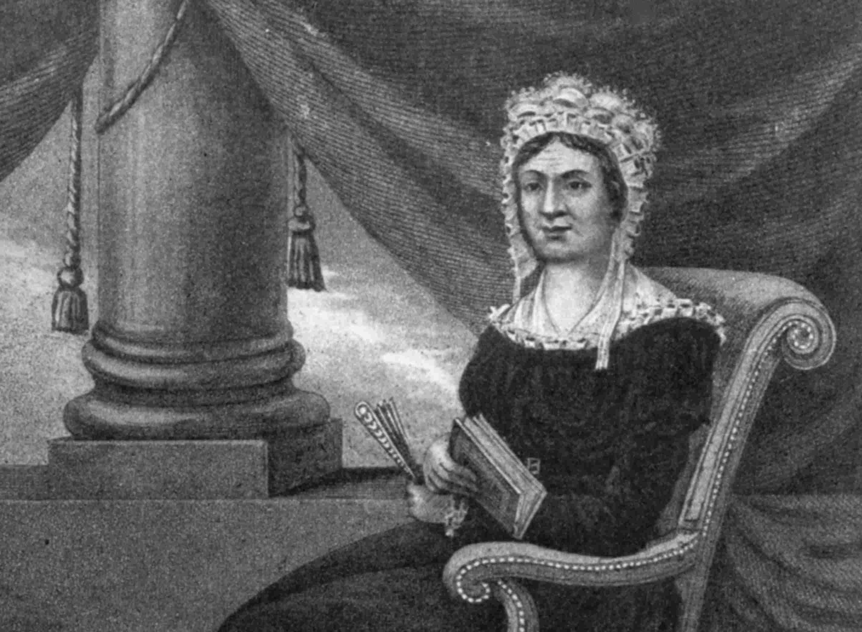 Portrait of Rachel Jackson, wife of Andrew Jackson