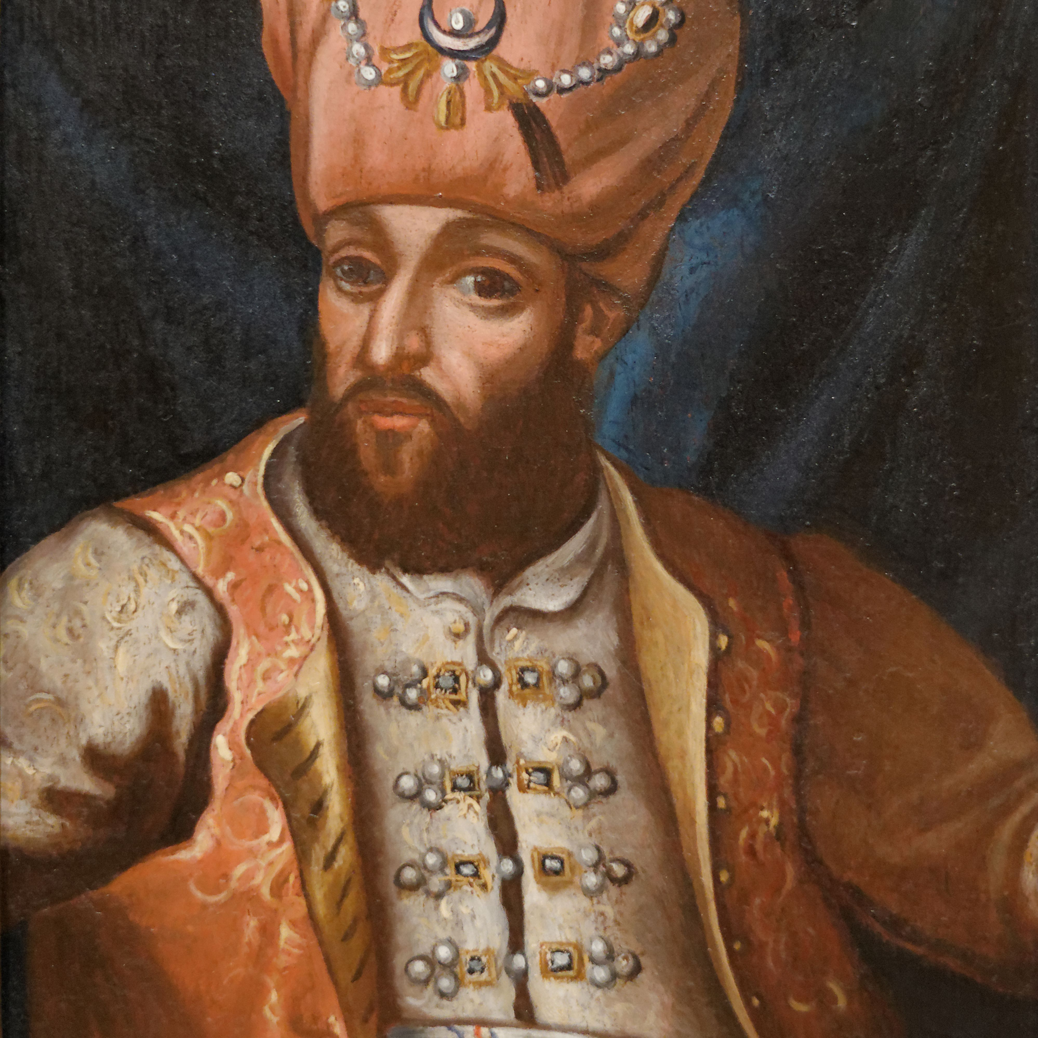 Mehmed IV (1642-1693), Sultan of the Ottoman Empire, 17th century. Found in the collection of the Vienna Museum.