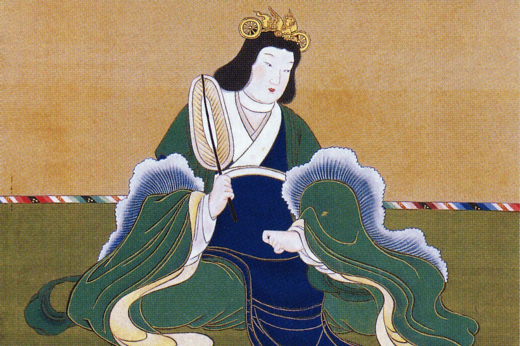 Portrait of Empress Suiko