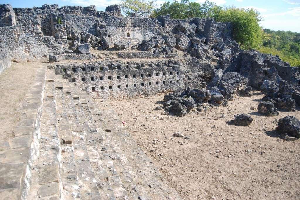Sunken Courtyard of Husuni Kubwa, Kilwa Kisiwani