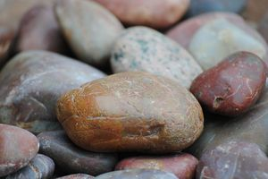 Stones in a pile
