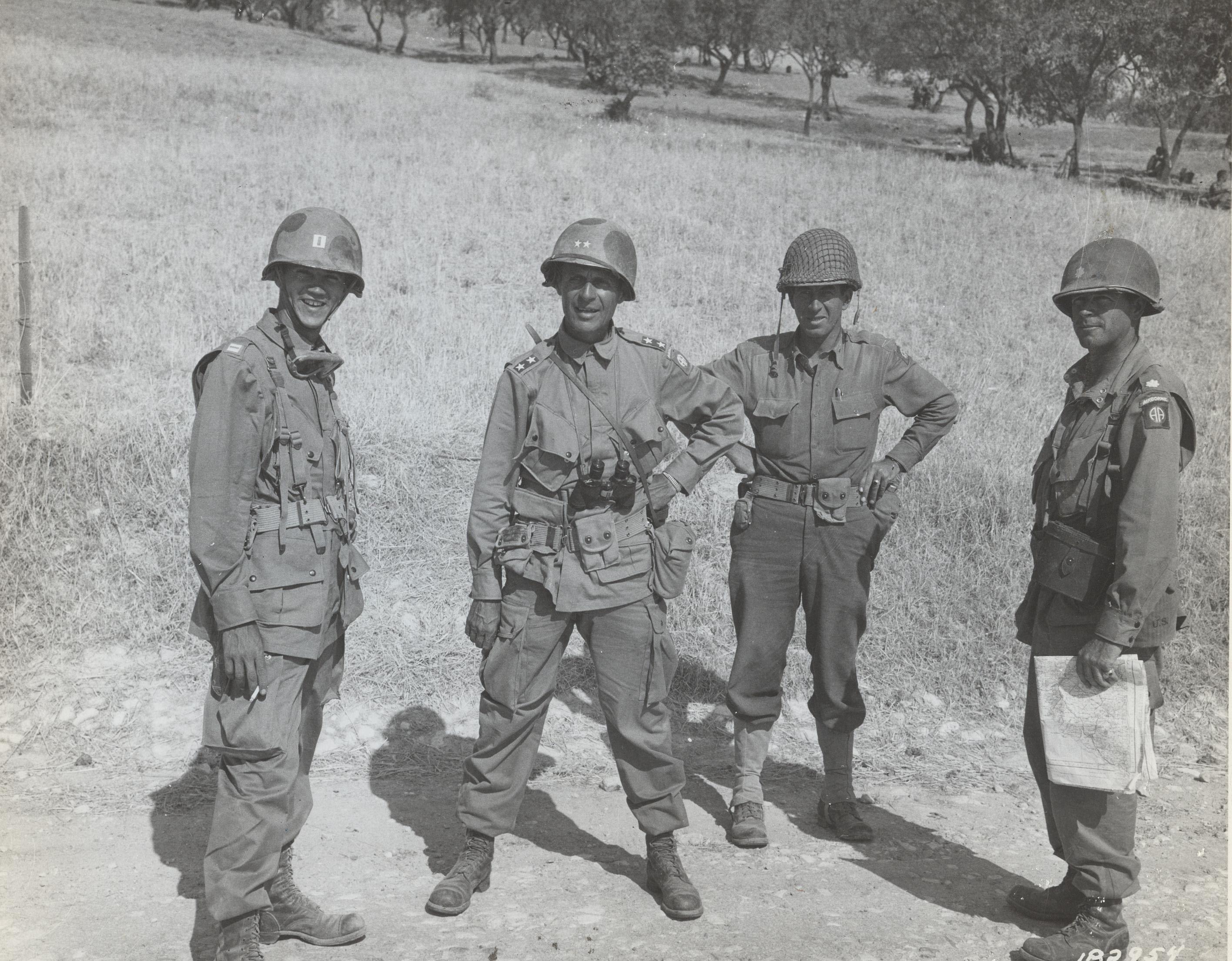 Matthew Ridgway, Sicily, July 1943
