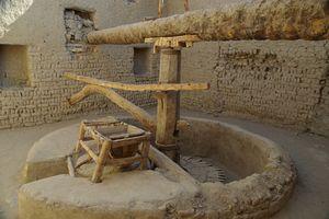 Flour Mill at the Dajla Oasis, Egypt