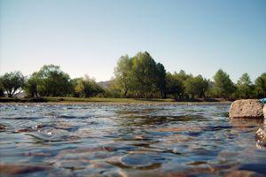 Terelj River, Mongolia