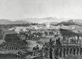 engraving of from the Mexican-American war