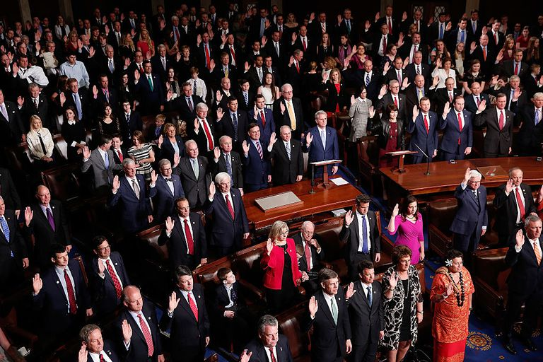 The 435 members of the U.S. House of Representatives