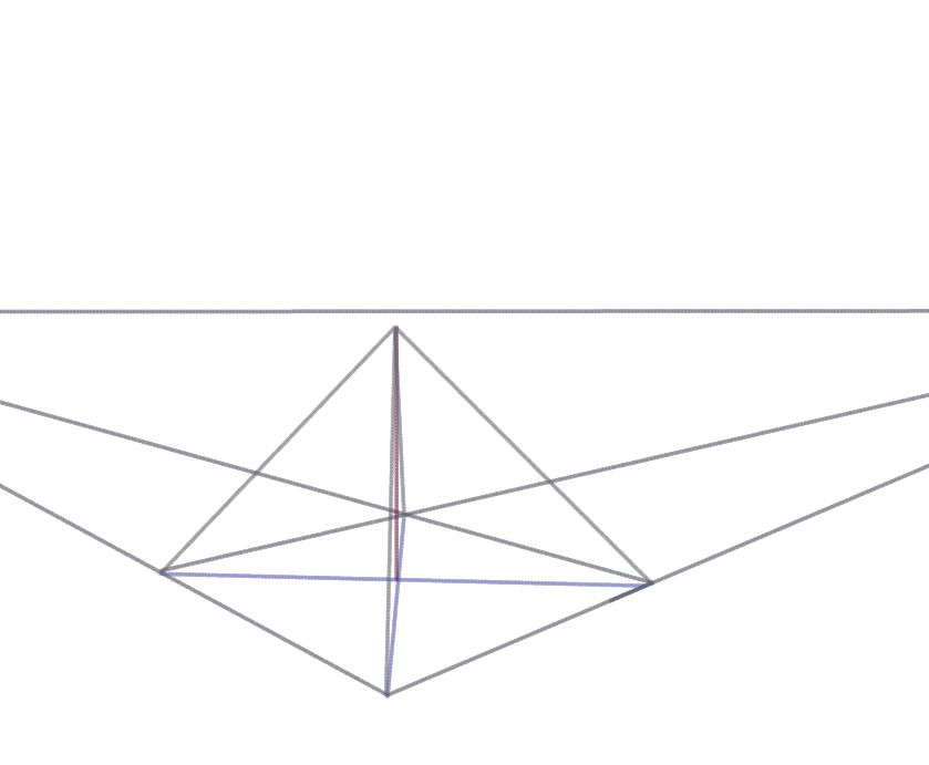 Finishing The 2 Point Perspective Pyramid