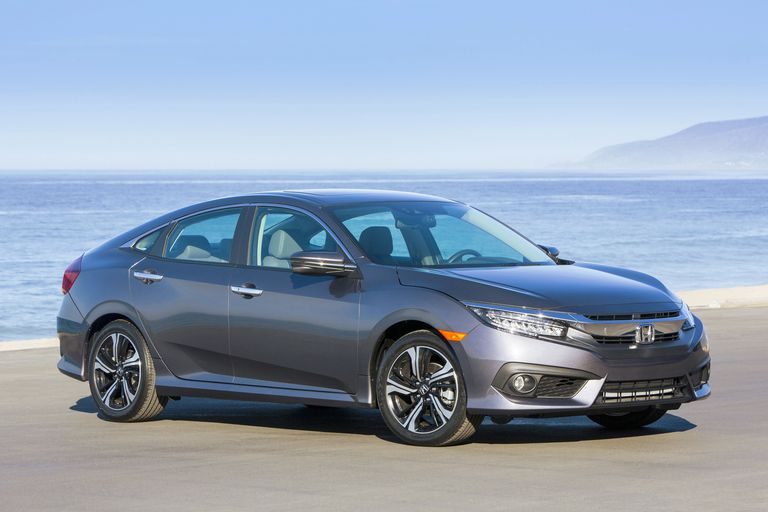 2016 Honda Civic from the front