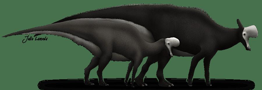 lambeosaurus depiction