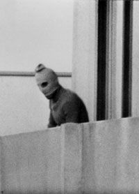 Black september terrorist at 1972 Olympics