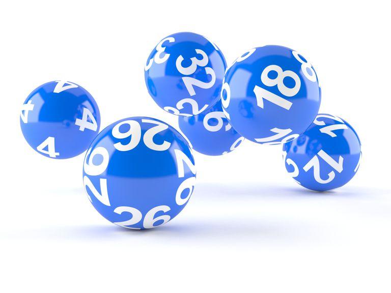 Bolas de sorteo para ilustrar la lotería de visas de la diversidad
