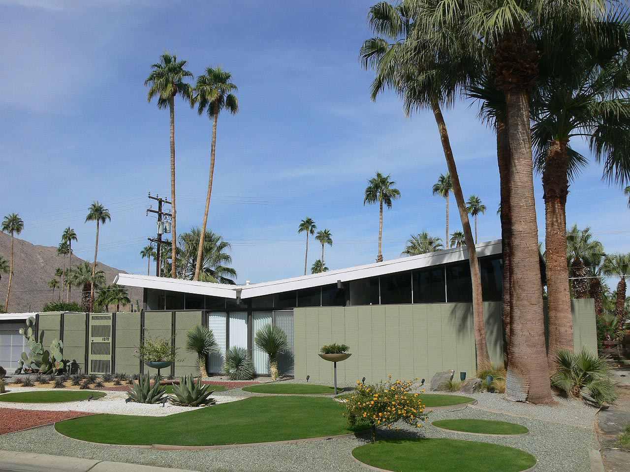 Alexander Accueil dans le quartier Twin Palms, Palm Springs, Californie