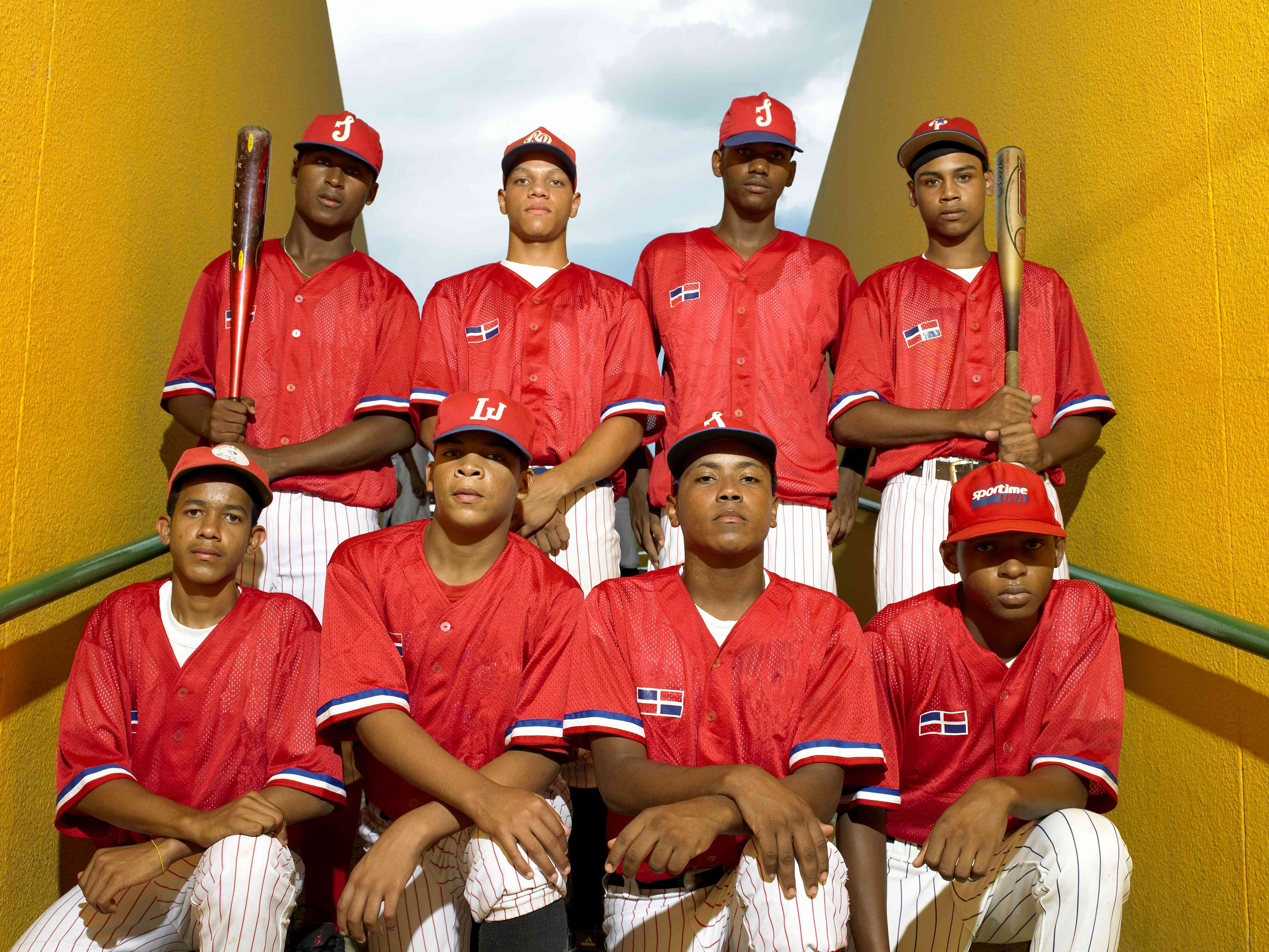 Dominican teenage baseball players