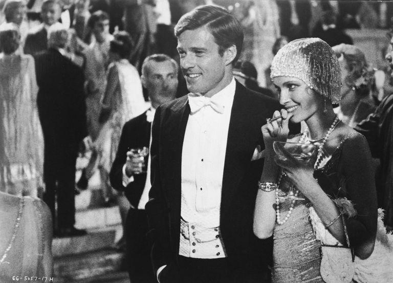 Robert Redford & Mia Farrow In 'The Great Gatsby'