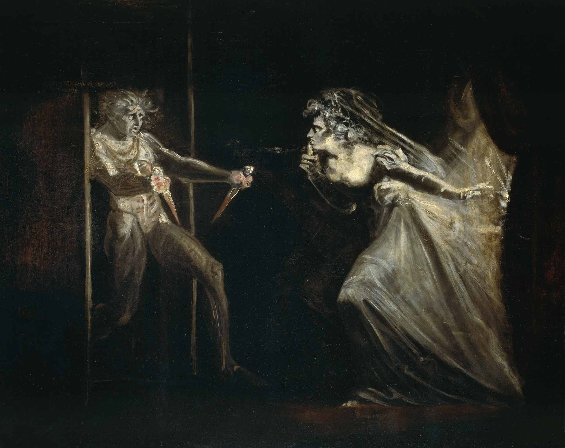 Artist rendition of lady macbeth