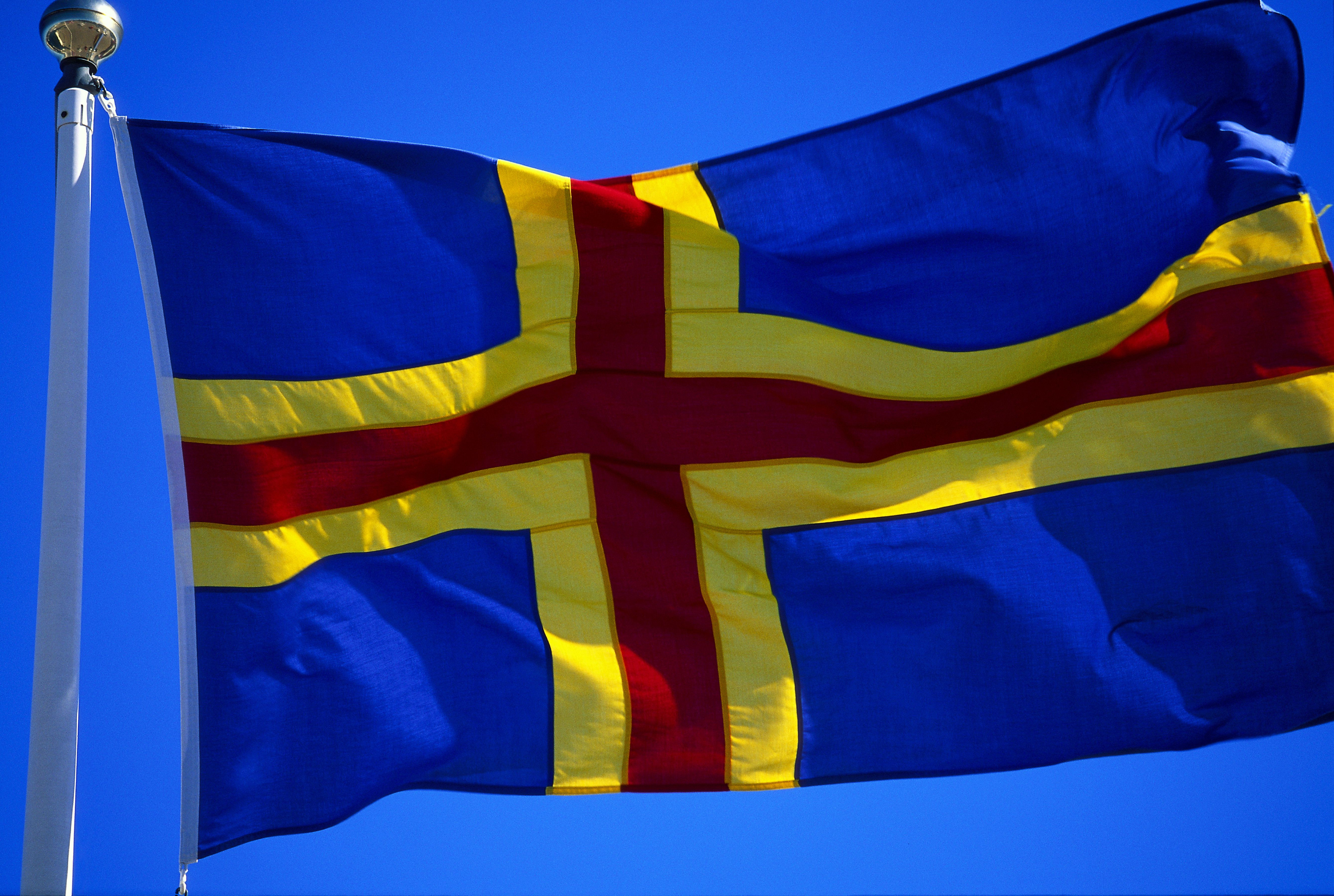Flag of Åland
