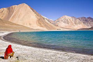 Pangong Lake, Jammu and Kashmir