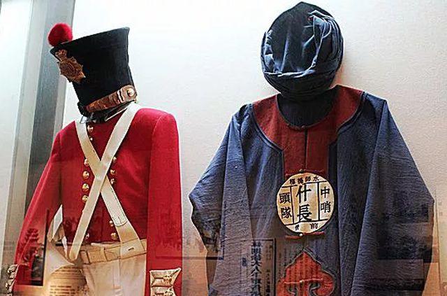 19th-century Opium War army uniforms
