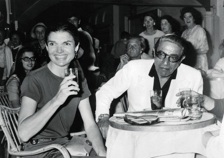 Aristotle Onassis and Jacqueline Kennedy Onassis