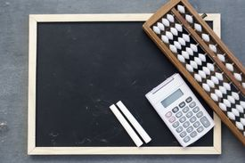 The abacus and modern calculator