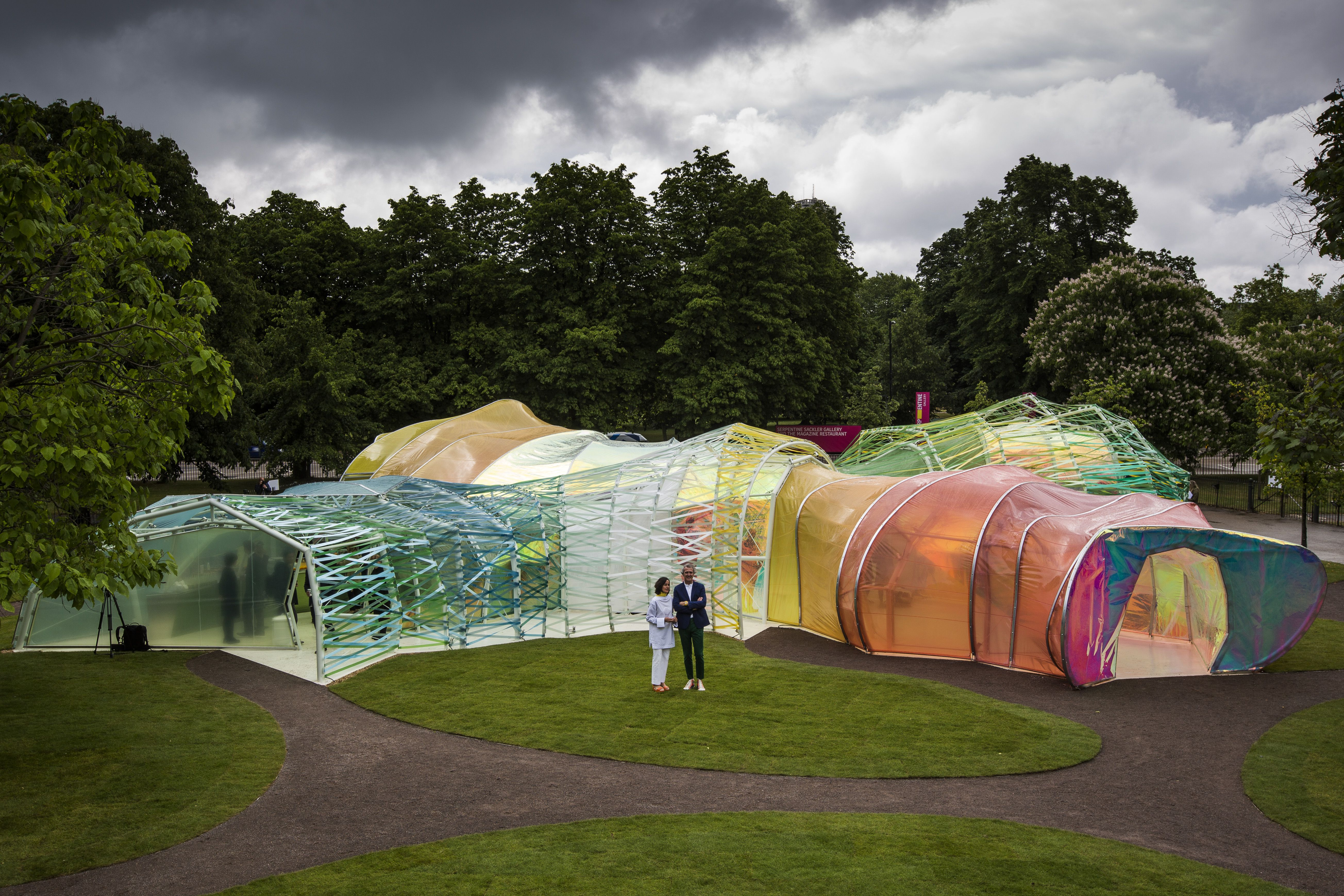 Spanish Architects Jose Selgas and Lucia Cano and the 2015 Serpentine Summer Pavilion