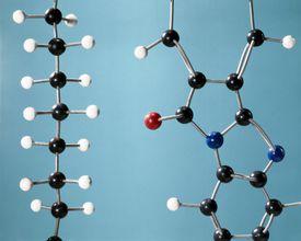 Models of Polythene and Polyamide